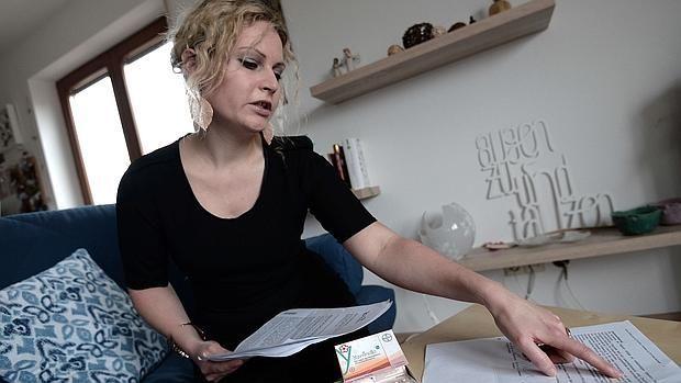 Felicitas Rohrer ha denunciado a Bayer - AFP