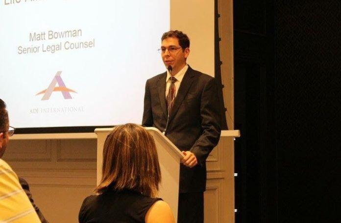 Matt Bowman, abogado pro familia de la organización Alliance for Defending Freedom
