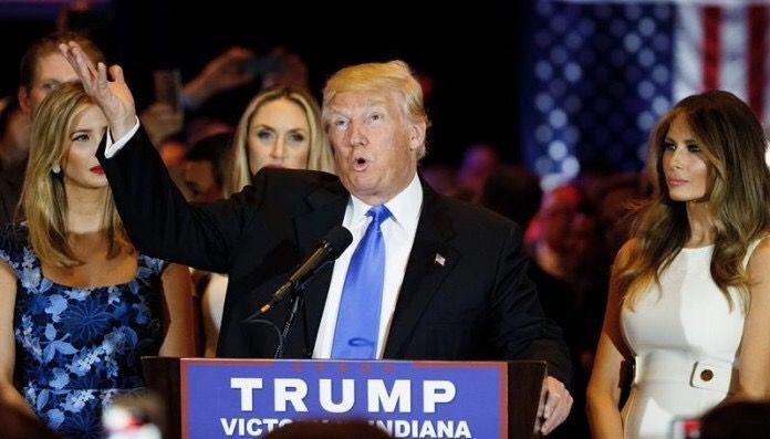 El magnate Donald Trump se convierte en el candidato presidencial estadounidense del Partido Republicano / EFE